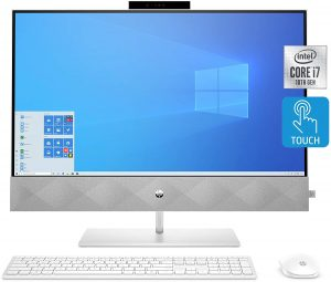 HP 27 inch All-in-One Touchscreen PC A136