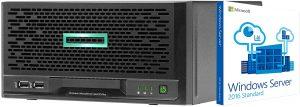 HP MicroServer Tower Xeon E-2224 A6