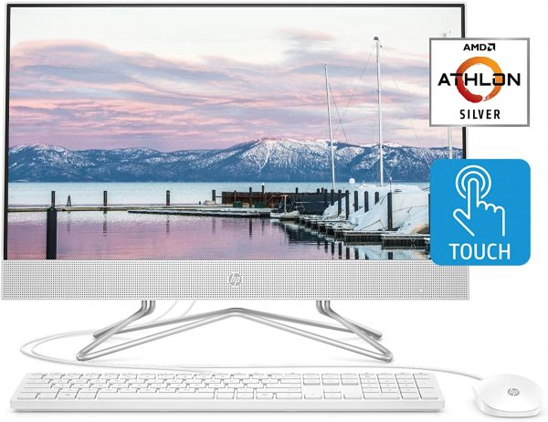 HP 24 inch All-in-One Touchscreen PC A107