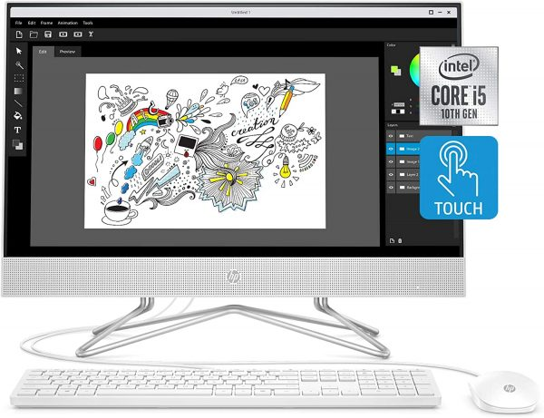 HP 24 inch All-in-One Touchscreen A122