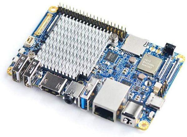 FriendlyElec NanoPC-T4 Rockchip RK3399 SBC A253