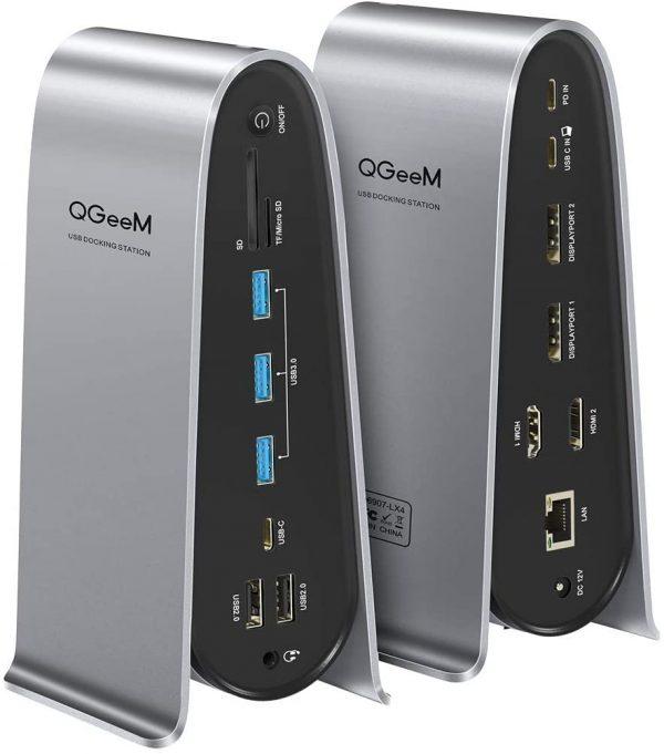 USB C 4 Display Docking Station A272
