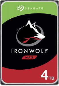 IronWolf 4TB NAS Internal Hard Drive A263