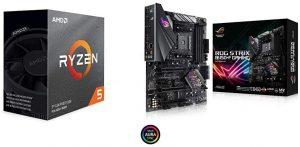 Ryzen 5 3600 CPU B450-F ATX Motherboard A295