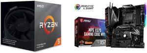 Ryzen 5 3600X CPU PG X570 Edge Motherboard A296