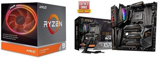 Ryzen 9 3900X CPU MEG X570 Motherboard A294