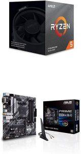 Ryzen 5 3600X CPU B550M-A Motherboard A297